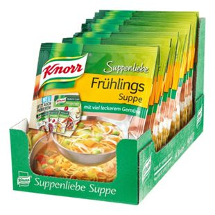 Knorr Suppenliebe Frühlingssuppe ergibt 0,75 Liter, 14er Pack - Bild 1