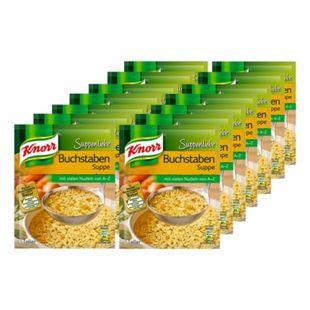 Knorr Suppenliebe Buchstabensuppe ergibt 0,75 Liter, 14er Pack - Bild 1