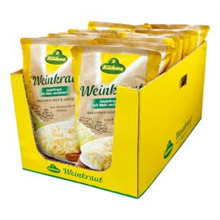 Kühne Sauerkraut mild 500 g, 16er Pack - Bild 1