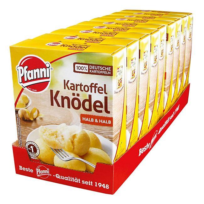 Pfanni Kartoffelknödel halb & halb 200 g, 9er Pack - Bild 1