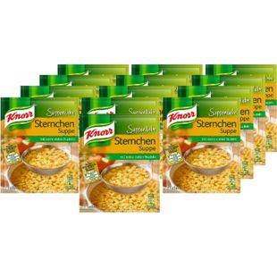 Knorr Suppenliebe Sternchen Suppe ergibt 0,75 Liter, 13er Pack - Bild 1