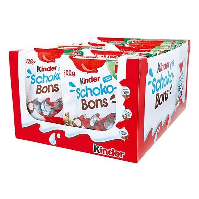 Ferrero Kinder Schokobons 200 g, 18er Pack - Bild 1