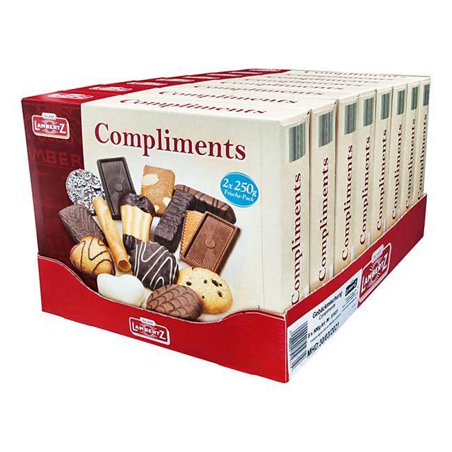 Lambertz Gebäckmischung Compliments 500 g, 8er Pack - Bild 1