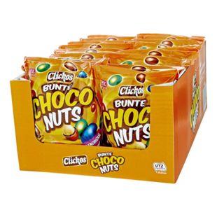 Clickos Bunt dragierte Erdnüsse 400 g, 18er Pack - Bild 1