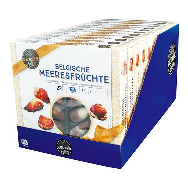 Schokoliebe Belgische Meeresfrüchte 250 g, 12er Pack - Bild 1