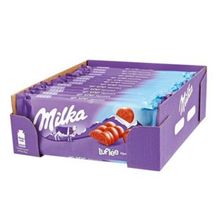 Milka Tafelschokolade Luflee 100 g, 13er Pack - Bild 1