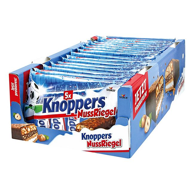 Storck Knoppers Nussriegel 200 g, 15er Pack - Bild 1