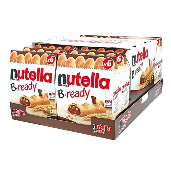 Ferrero Nutella B-ready 132 g, 16er Pack - Bild 1