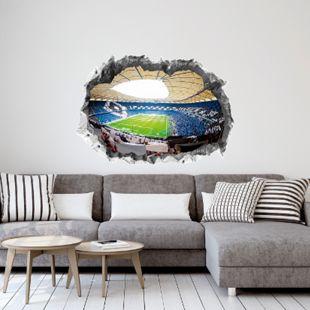 HSV Wandtattoo 3D nachleuchtend Volksparkstadion mehrfarbig - Bild 1