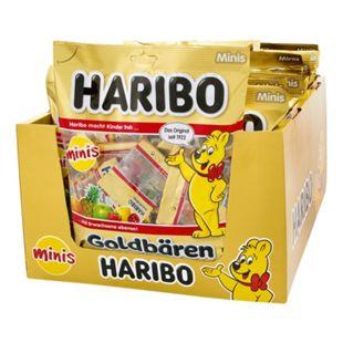 Haribo Goldbären Minis 250 g, 20er Pack - Bild 1