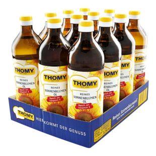 Thomy Sonnenblumenöl 750 ml, 12er Pack - Bild 1