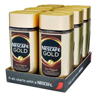 Nestle Nescafe Gold 200 g, 6er Pack - Bild 1