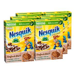 Nestle Nesquik Cerealien 375 g, 6er Pack - Bild 1