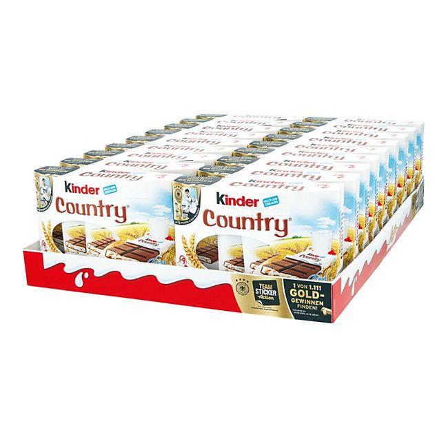 Ferrero Kinder Country 211,5 g, 18er Pack - Bild 1