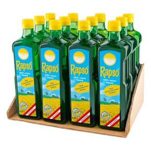 Rapso Rapsöl 750 ml, 12er Pack - Bild 1