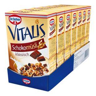 Dr. Oetker Vitalis Schoko Müsli 600 g, 7er Pack - Bild 1