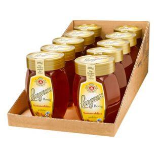 Langnese Sommerblüten Honig 500 g, 10er Pack - Bild 1