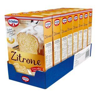 Dr. Oetker Backmischung Zitronen Kuchen 485 g, 8er Pack - Bild 1