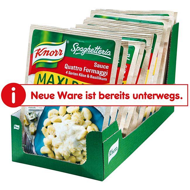 Knorr Spaghetteria Sauce Quattro Formaggi Maxi ergibt 315 ml, 16er Pack - Bild 1