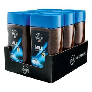 Cafet Instantkaffee Mild 200 g, 6er Pack - Bild 1