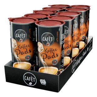 Cafet Crema Pads 144 g, 10er Pack - Bild 1