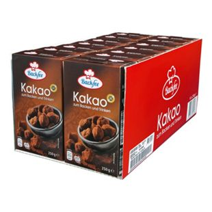 Backfee Kakao 250 g, 14er Pack - Bild 1