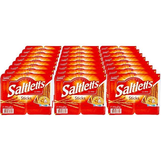 Lorenz Saltletts Sticks 250 g, 24er Pack - Bild 1