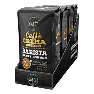 Cafet Caffe Gustoso Ganze Bohne 1000 g, 4er Pack - Bild 1