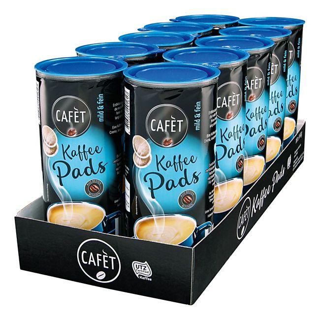 Cafet Mild & Fein Pads 144 g, 10er Pack - Bild 1