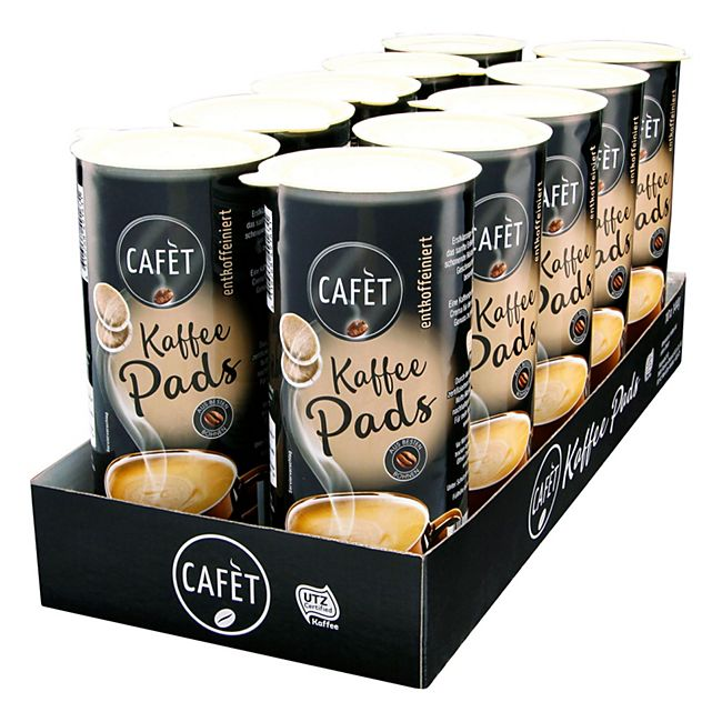 Cafet Entkoffeinierte Pads 144 g, 10er Pack - Bild 1