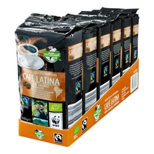 Bio Fairtrade Cafe Latina 500 g, 6er Pack - Bild 1