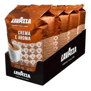 Lavazza, ganze Kaffeebohnen Kaffee Crema e Aroma 1 kg, 4er Pack - Bild 1