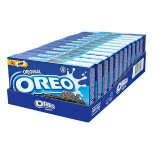 Oreo Keks Vanillecreme 176 g, 12er Pack - Bild 1