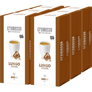Cremesso Lungo Crema Kaffee 16 Kapseln 96 g, 6er Pack - Bild 1