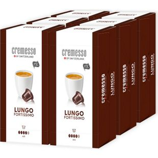 Cremesso Fortissimo Lungo Kaffee 96 g, 6er Pack - Bild 1