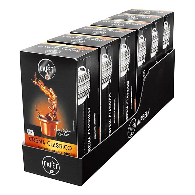 Cafet für Cremesso Crema Classico Kaffee 88 g, 6er Pack - Bild 1
