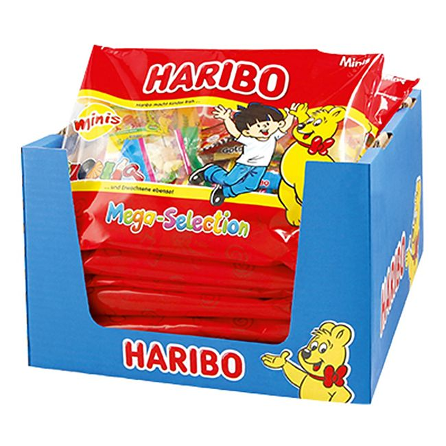 Haribo Mega Selection 425 g, 14er Pack - Bild 1