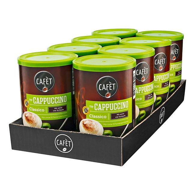 Cafet Cappuccino Classico 200 g, 8er Pack - Bild 1