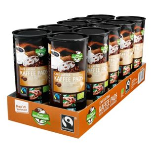 Bio Fairtrade Cafe Latina Kaffeepads 144 g, 10er Pack - Bild 1