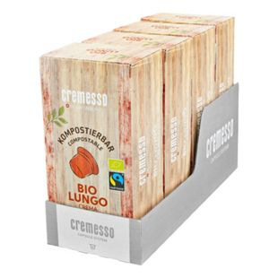 Cremesso Bio Crema Lungo Kaffee 16 Kapseln 96 g, 4er Pack - Bild 1