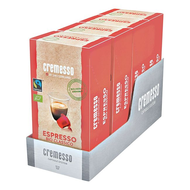 Cremesso Espresso Bio Classico Kaffee 96 g, 4er Pack - Bild 1