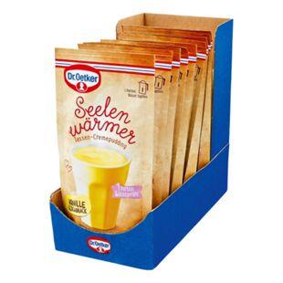 Dr. Oetker Seelenwärmer Pudding Vanille für 150 ml Wasser, 10er Pack - Bild 1