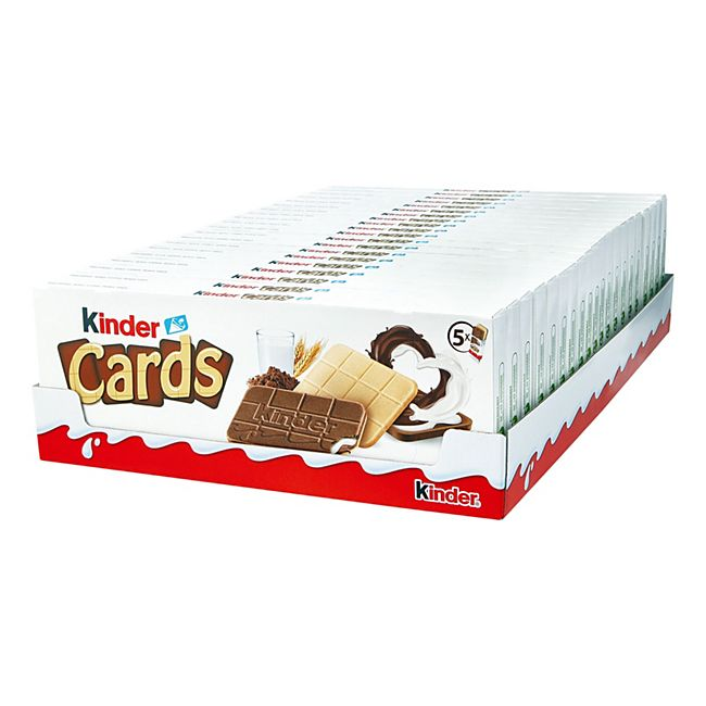 Ferrero Kinder Cards 128 g, 20er Pack - Bild 1
