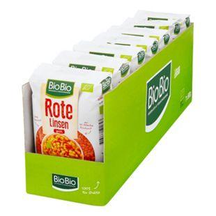 BioBio Rote Linsen 500 g, 7er Pack - Bild 1