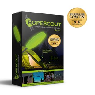 RopeScout Markierclip nachtleuchtend 8er-Set - Bild 1