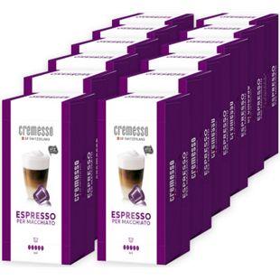 Cremesso Espresso per Macchiato 16 Kapseln 96 g, 12er Pack - Bild 1