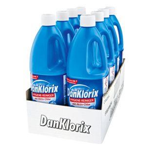 Dan Klorix Hygienereiniger 1,5 Liter, 8er Pack - Bild 1