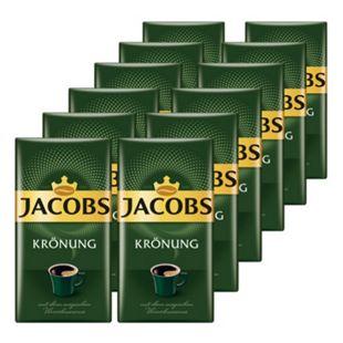 Jacobs Kaffee Krönung 500 g, 12er Pack - Bild 1