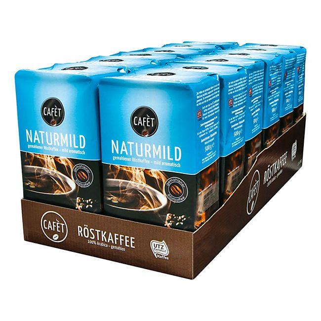 Cafet Naturmild 500 g, 12er Pack - Bild 1