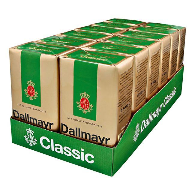 Dallmayr Kaffee Classic 500 g, 12er Pack - Bild 1